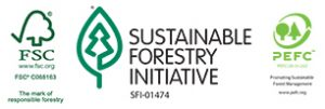 Case Paper Achieves Forestry Tri-Certification