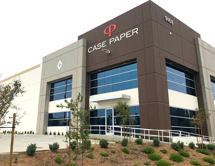 New Case Paper Converting and Distribution Facility Opens in CA