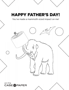 Draw for Your Dad this Father's Day!