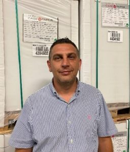 """Case Paper Philadelphia Facility Welcomes New Operations Manager, Denis Kovacevic, Singing """"We are Family!"""""""